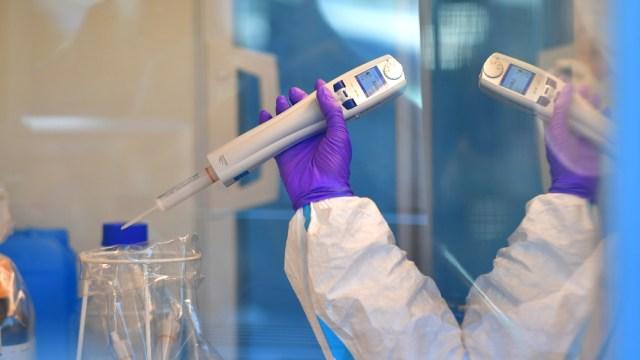 FOTO: IPN diseña dispositivo que detecta coronavirus en 15 minutos, el 17 de mayo de 2020