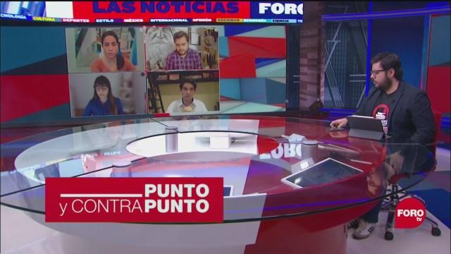 Foto: Punto Contrapunto Genaro Lozano Programa Completo 13 Mayo 2020