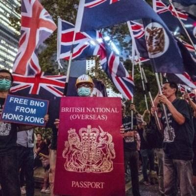 Londres estudia la posibilidad de dar la ciudadanía británica a 300,000 hongkoneses que tienen un pasaporte BNO. (Foto: @OneWorld_UK)