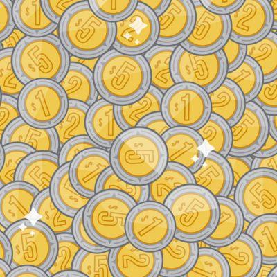 Reto visual: Encuentra tres rondanas entre las monedas