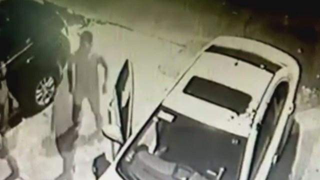 FOTO: Video: Detienen a ladrón de autos en Iztapalapa, en la CDMX, el 25 de mayo de 2020