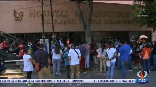 saturacion de hospitales por coronavirus en el valle de mexico