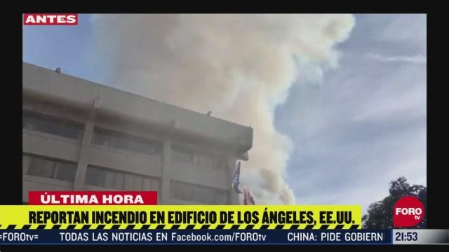 FOTO: 16 de mayo 2020, se registra intensa movilizacion policiaca por explosion en los angeles
