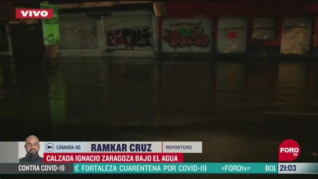 FOTO: 9 de mayo 2020, se registran inundaciones en iztapalapa tras fuertes lluvias