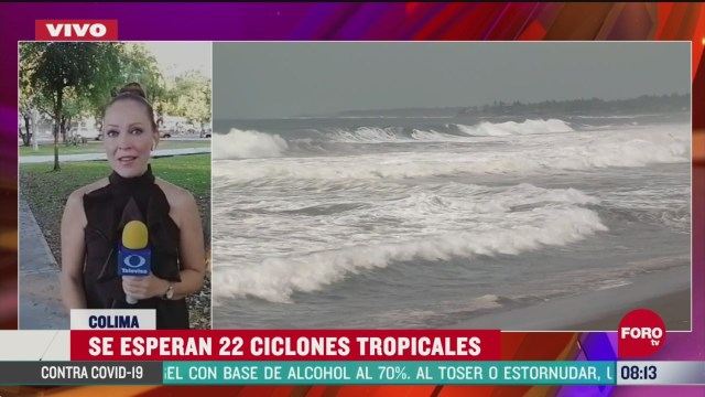 FOTO: 16 de mayo 2020, secretaria de marina preve 22 ciclones en el oceano pacifico