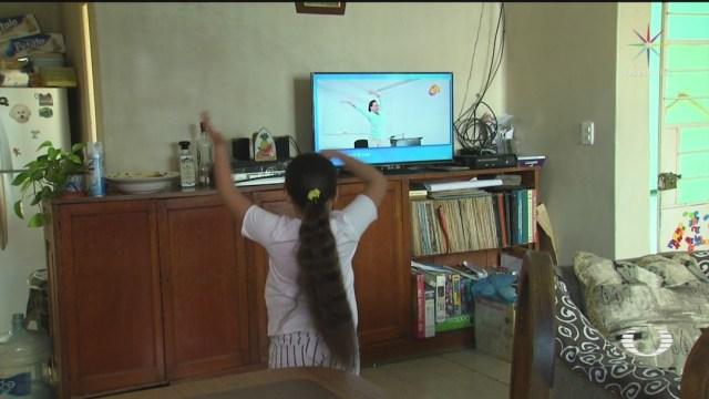 Foto SEP: Horarios de clases por televisión del 4 al 8 de mayo