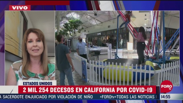 FOTO: suman 2 mil 254 muertos en california por coronavirus