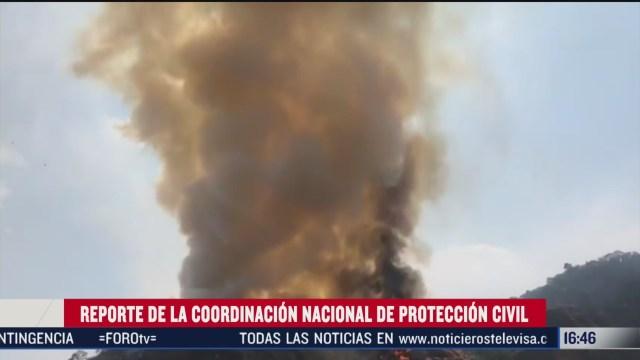 FOTO: suman siete incendios forestales activos en mexico