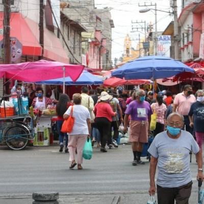 Tianguistas  de Iztapalapa piden ayuda por crisis económica provocada por coronavirus