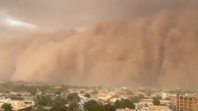 Foto: VIDEO: Tormenta de arena cubre Niamey, capital de Níger