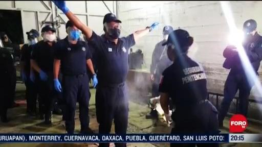 Foto: trasladan a reos para evitar contagios de coronavirus en oaxaca 14 Mayo 2020