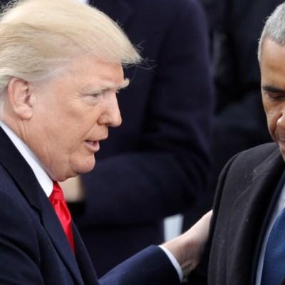 Trump arremete en Twitter contra Obama con la palabra 'Obamagate'