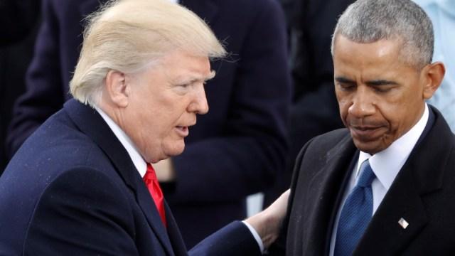 Trump arremete contra Barack Obama con la frase 'Obamagate'