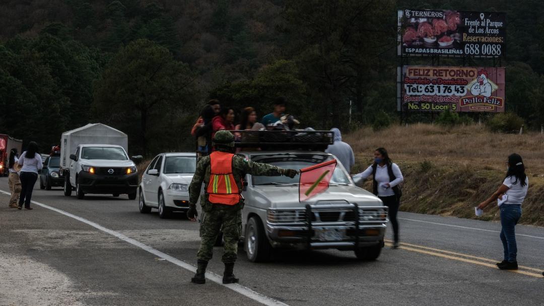 FOTO: Secretario de Salud de Chiapas descarta programa Hoy No Circula en Tuxtla Gutiérrez, el 20 de mayo de 2020