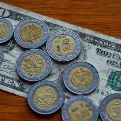 Va fuerte el peso y cotiza 22.12 por dólar spot, pese fricción EEUU-China