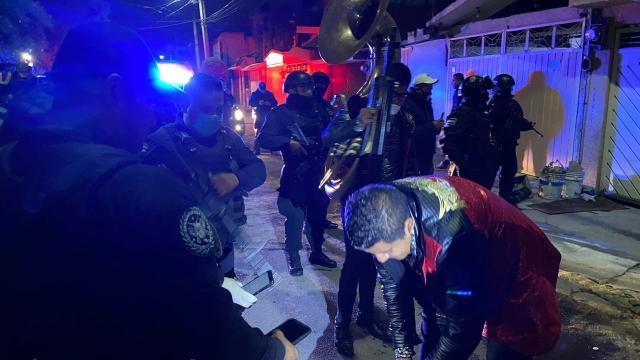 FOTO: Mueren tres personas tras riña en fiesta clandestina, en Hidalgo, el 31 de mayo de 2020