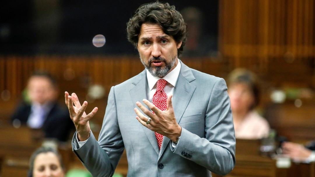 Foto: Justin Trudeau guarda silencio por 21 segundos ante pregunta sobre racismo en EEUU, 3 de junio de 2020, (Reuters)