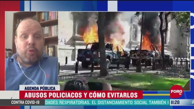 FOTO: 7 de junio 2020, abuso policiaco en mexico