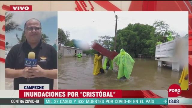 FOTO: 6 de junio 2020,afectaciones en campeche tras paso de la tormenta cristobal
