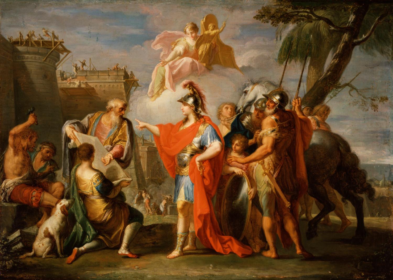 Alejandro Magno funda Alejandría