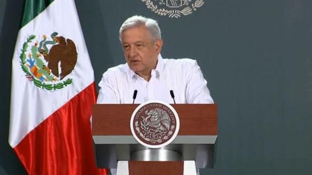 El presidente de México, Andrés Manuel López Obrador, en su gira por Campeche. (Foto: Gobierno de México)