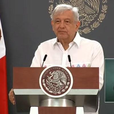 Conferencia del presidente Andrés Manuel López Obrador. (Foto: Gobierno de México)