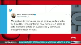 arturo herrera secretario de hacienda dio positivo a covid