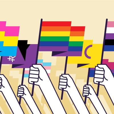 ¿Qué simbolizan las banderas del Orgullo LGBT+?
