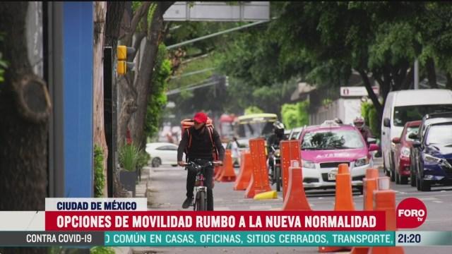 bicicletas opcion de transporte en contingencia por covid