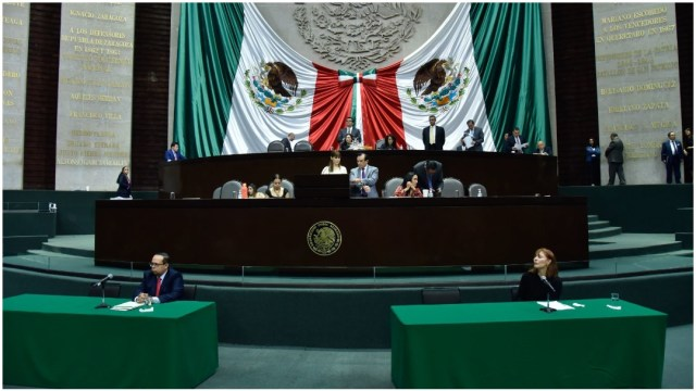 Imagen: La Cámara aplazó la realización de la Sesión Extraordinaria, 20 de junio de 2020 (MARIO JASSO /CUARTOSCURO.COM)