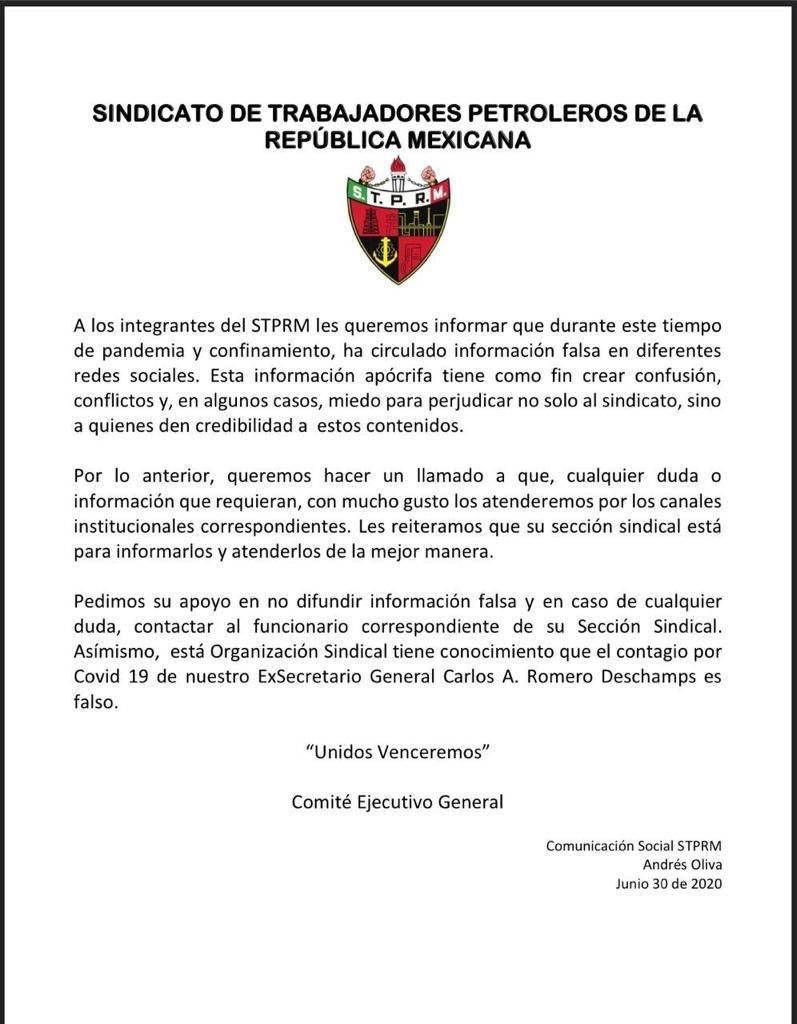 carlos romero deschamps covid-19