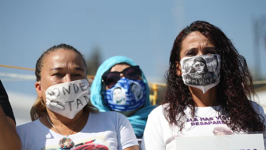 Familiares de desaparecidos exigen la destitución de titular de Comisión Ejecutiva de Atención a Víctimas , 18 de junio de 2020, (EFE)