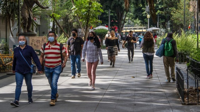 La movilidad aumentó en la Ciudad de México pese a los miles de casos de coronavirus. (Foto: Cuartoscuro)