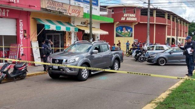 Foto: Asesinan a director de policía de Ciudad Isla, Veracruz, 12 de junio de 2020, (LibertadBajoPalabra.com)