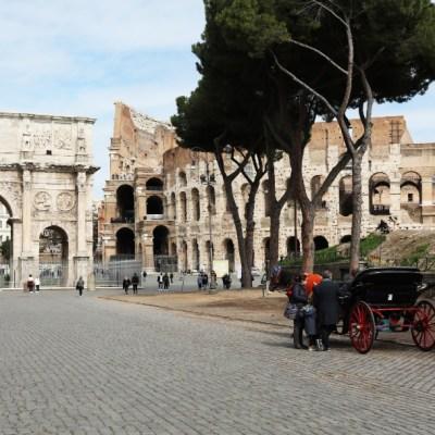FOTO: Italia reabre el Coliseo de Roma tras cierre por la pandemia de coronavirus, el 01 de junio de 2020