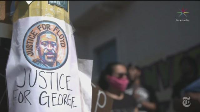companias y artistas convocan un blackout en honor al afroamericano george floyd