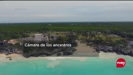 FOTO: 6 de junio 2020, comprueban que cenotes fueron habitados por humanos
