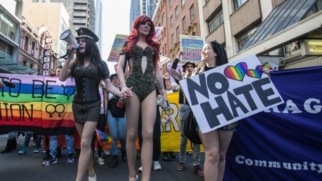 FOTO: Supremo de EEUU determina que transexuales no pueden ser discriminados en el trabajo, el 15 de junio de 2020