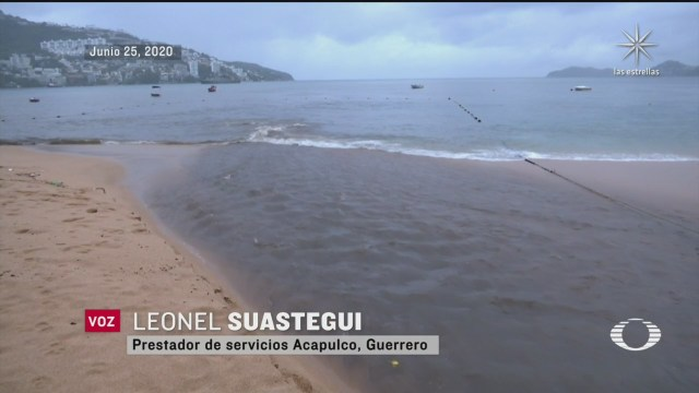 confirmado agua sucia que fluyo al mar de acapulco no eran aguas negras