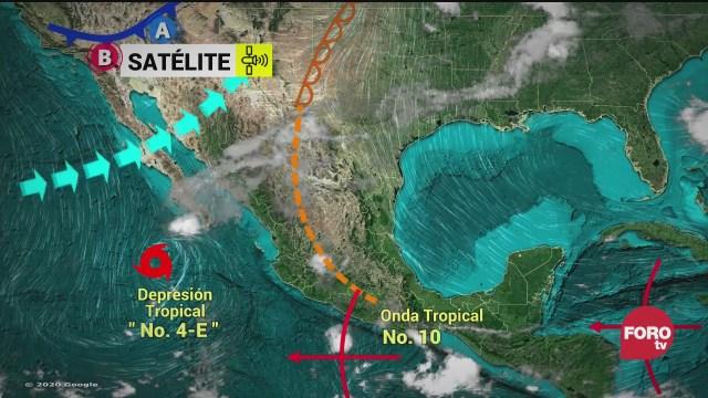 continuaran las lluvias en jalisco michoacan y guerrero