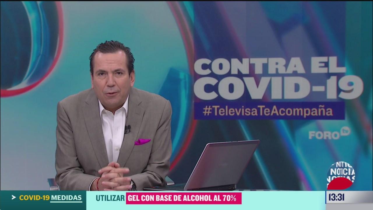 FOTO contra el covid 19 televisateacompana primera emision del 30 de junio de