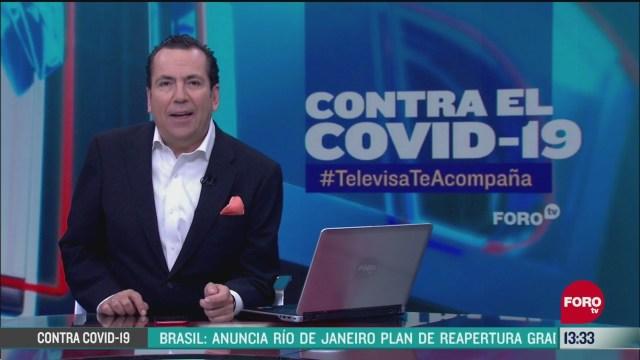 FOTO: contra el covid 19 televisateacompana segunda emision del 2 de junio de