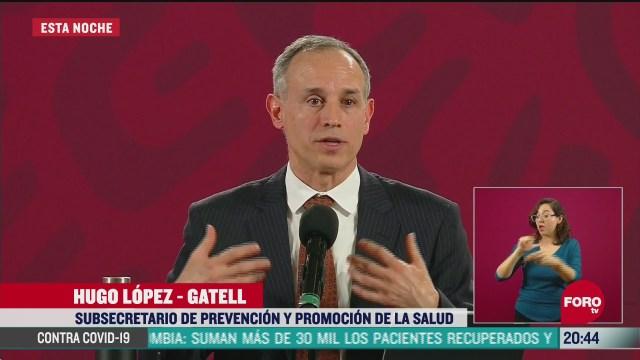 Coronavirus podría extenderse hasta tres años: López-Gatell conferencia coronavirus