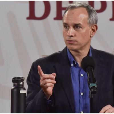 López-Gatell reitera que los contagios de COVID-19 se reducirán si se siguen medidas preventivas