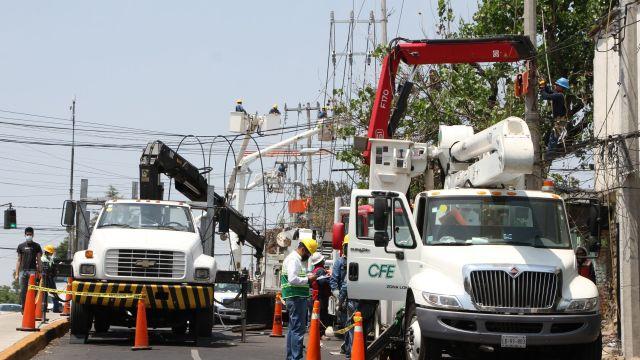 Foto: CFE amenaza con cortar la luz en Nezahualcóyotl, Edomex, 4 de junio de 2020, (Cuartoscuro, archivo)