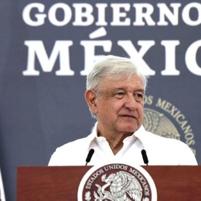 El presidente Andrés Manuel López Obrador, en su conferencia de prensa matutina. (Foto: Cuartoscuro/archivo)