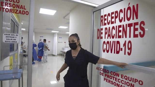 Foto: Personal de salud en Acapulco protesta por descuentos salariales, 10 de junio de 2020, (Cuartoscuro, archivo)