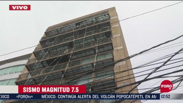 desalojan a vecinos de un edificio de la alcaldia tlalpan tras sismo