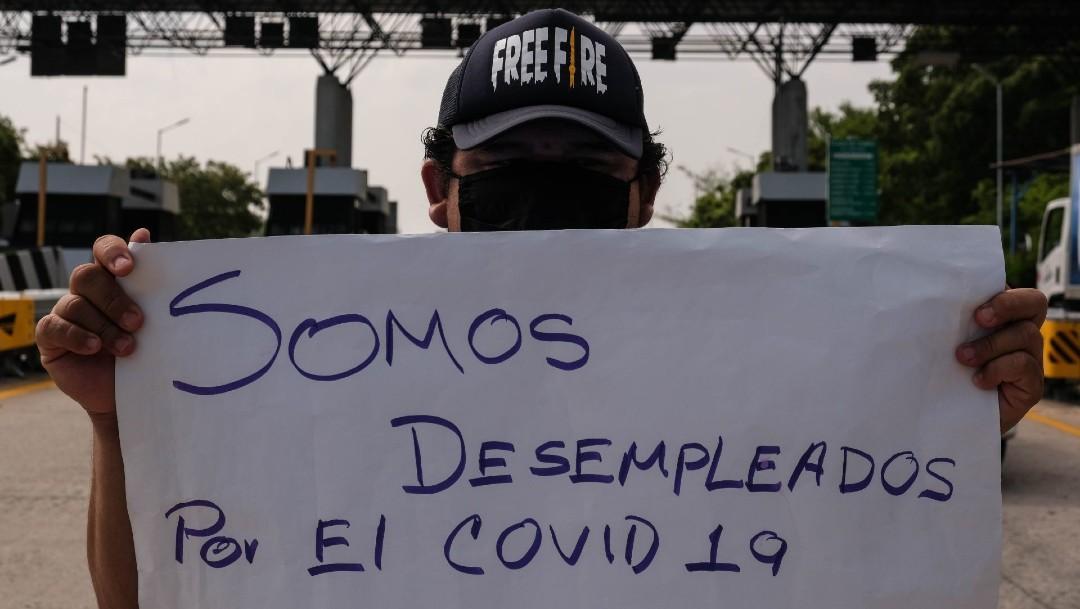 Desempleados por COVID en México; baja la tasa de desempleo en mayo