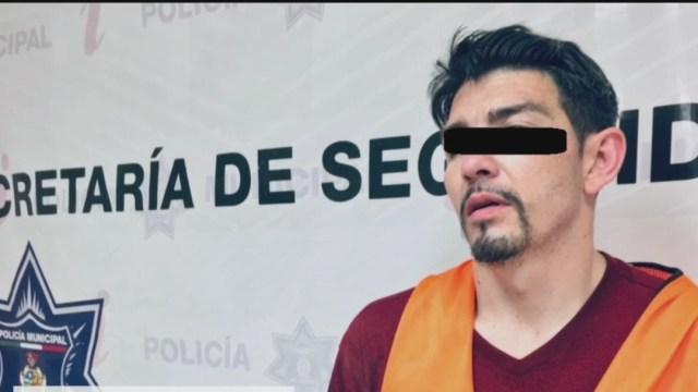 FOTO: Detienen a 'El Güero', presunto integrante del grupo delictivo 'La Línea', el 14 de junio de 2020